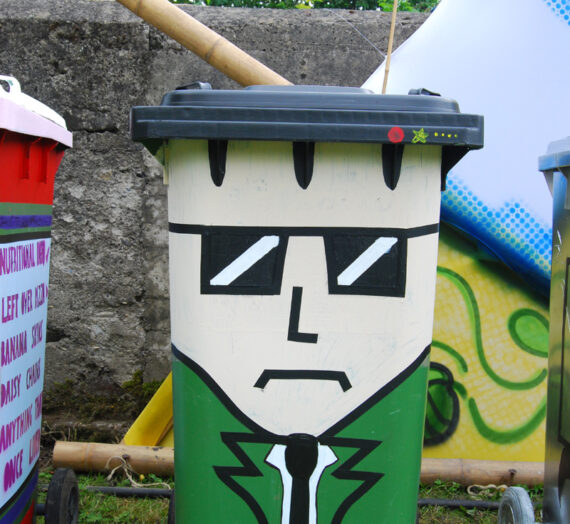 'Pimp My Bin' – Winning Designs, Body & Soul Festival Ireland 2013